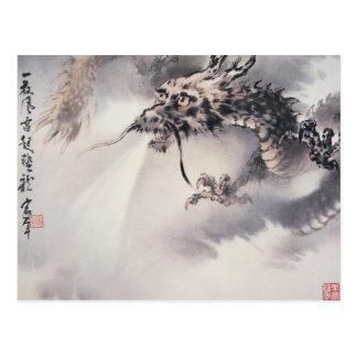 Carte postale de dragon