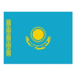 Carte postale de drapeau de Kazakhstan