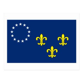 Carte postale de drapeau de Louisville