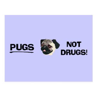 Carte postale de drogues de carlins pas