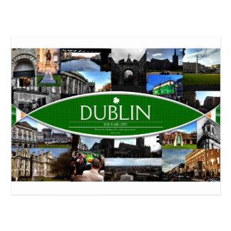 Carte postale de Dublin