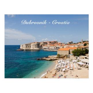 Carte postale de Dubrovnik - de la Croatie