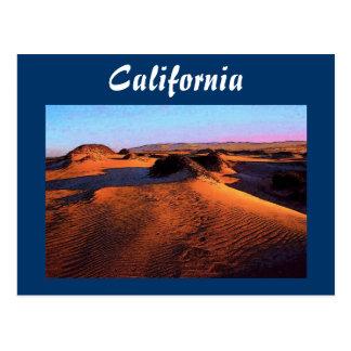 Carte postale de dunes de la Californie