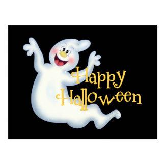 Carte postale de fantôme de Halloween