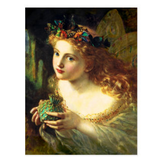 Carte postale de fée de Sophie Anderson