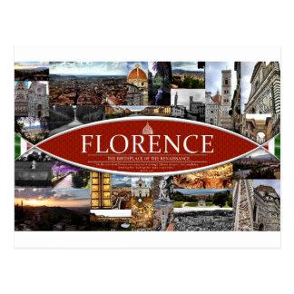 Carte postale de Florence