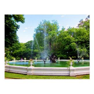 Carte postale de fontaine de Neptune