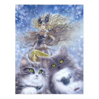 Carte postale de Freyja