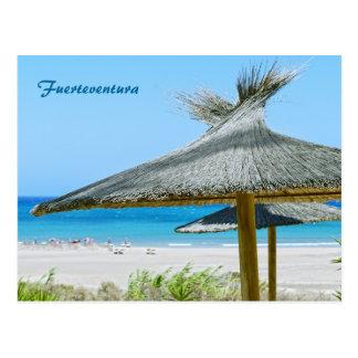 Carte postale de Fuerteventura