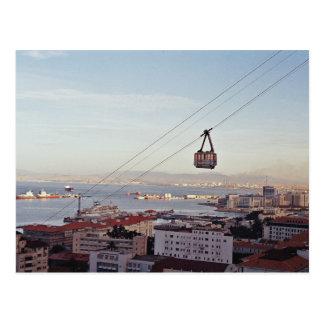 Carte postale de funiculaire du Gibraltar
