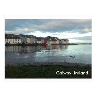 Carte postale de Galway Irlande