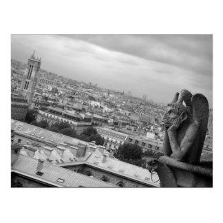 Carte postale de gargouille de Notre Dame