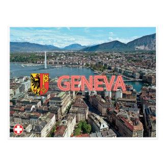 Carte postale de Genève - de la Suisse