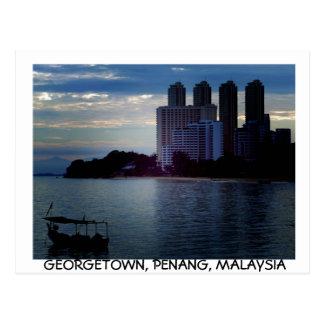 Carte postale de Georgetown, Penang