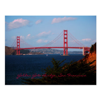Carte postale de golden gate bridge