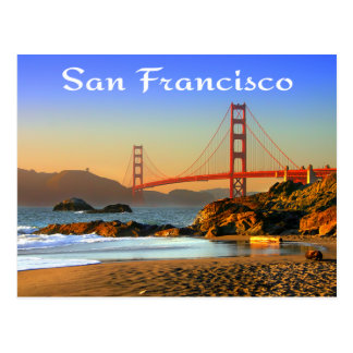 Carte postale de golden gate bridge San Francisco