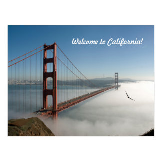 Carte postale de Golden Gate de San Francisco
