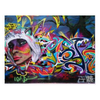 Carte postale de graffiti