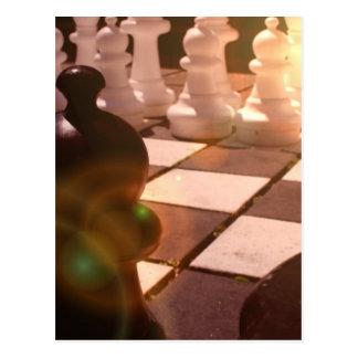 Carte postale de grand maître d'échecs