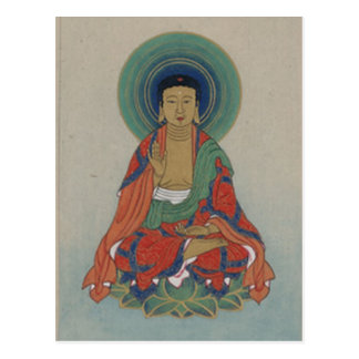 Carte postale de guérison Bouddha