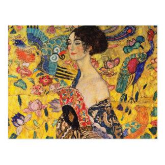 Carte postale de Gustav Klimt