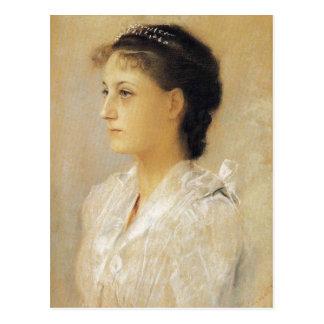 Carte postale de Gustav Klimt Emilie Floge