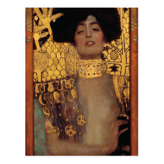 Carte postale de Gustav Klimt Judith