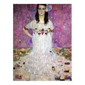 Carte postale de Gustav Klimt Mada Primavesi