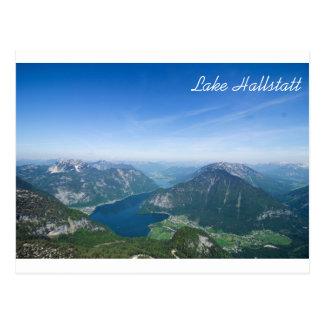 Carte postale de Hallstatt de lac