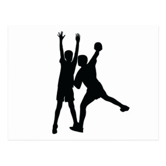 Carte postale de handball