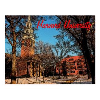 Carte postale de Harvard