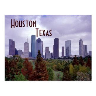 Carte postale de Houston le Texas