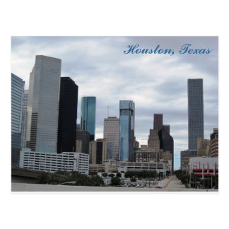 Carte postale de Houston, le Texas