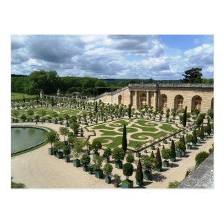 Carte postale de jardins de Versailles Orangerie