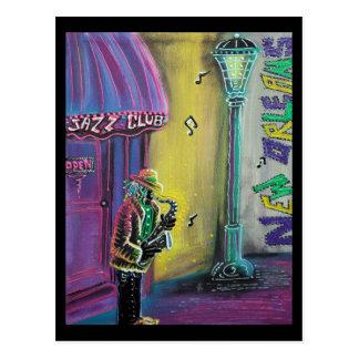 Carte postale de jazz
