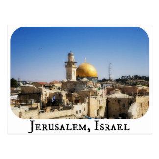 Carte postale de Jérusalem, Israël
