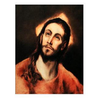 Carte postale de Jésus-Christ d'El Greco