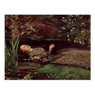 Carte postale de John Everett Millais Ophélie