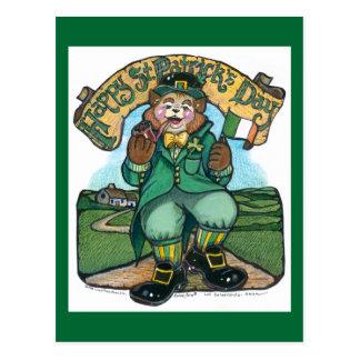 Carte postale de Jour de la Saint Patrick