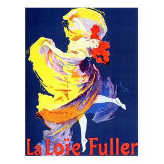 Carte postale de Jules Cheret Folies Bergere
