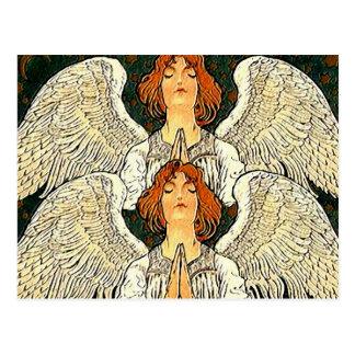 Carte postale de jumeau d'ange de Pax