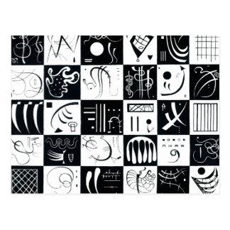 Carte postale de Kandinsky trente