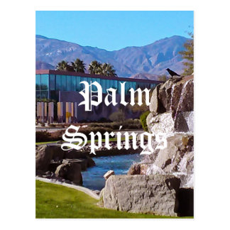 Carte postale de la Californie de Palm Springs
