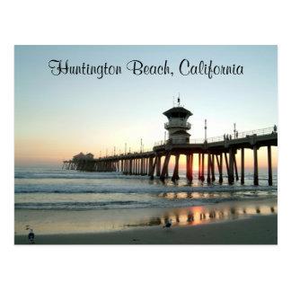 Carte postale de la Californie de pilier de
