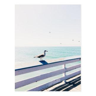 Carte postale de la Californie du sud - pilier de