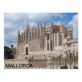 carte postale de la Cathédrale de Palma de