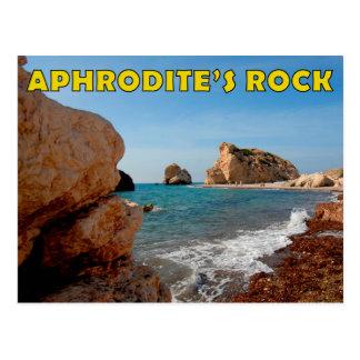 Carte postale de la Chypre de la roche de