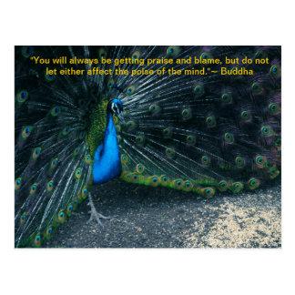 Carte postale de la citation de Bouddha
