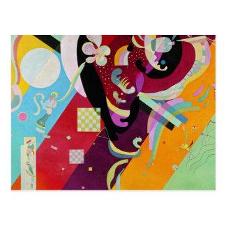Carte postale de la composition IX en Kandinsky