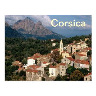 carte postale de la Corse France